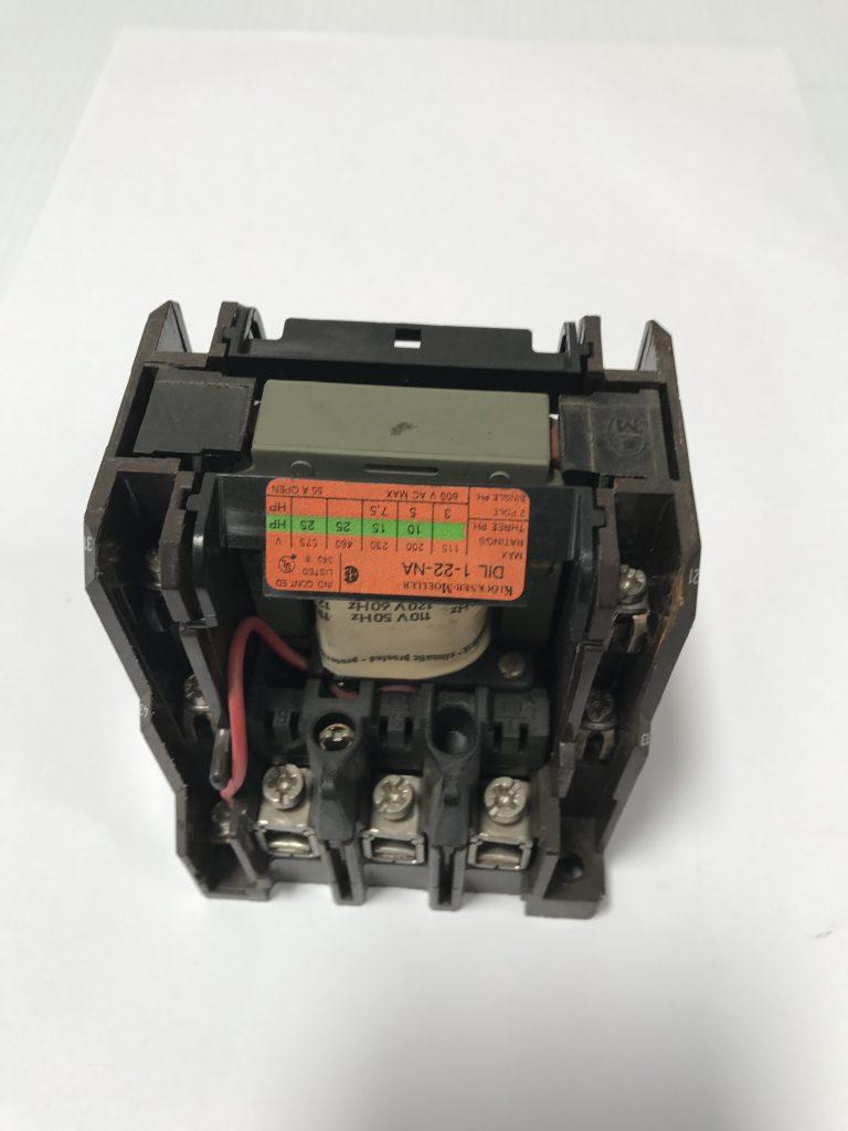 Klockner Moeller Contactor DIL 0-22-NA