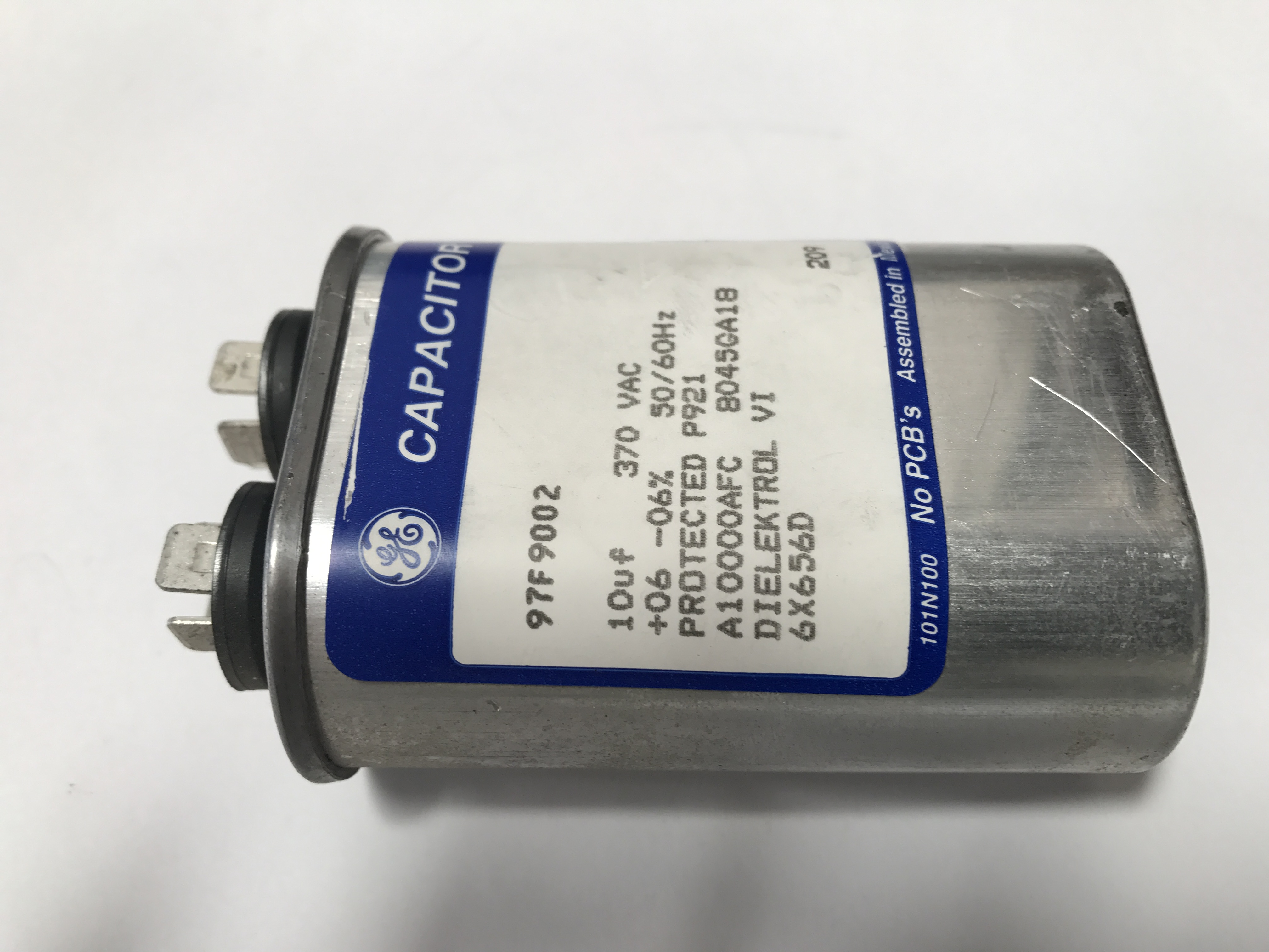 G E  97F9002 DIELECTROL CAPACITOR